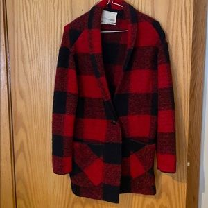 Wilfred Plaid Jacket/sweater
